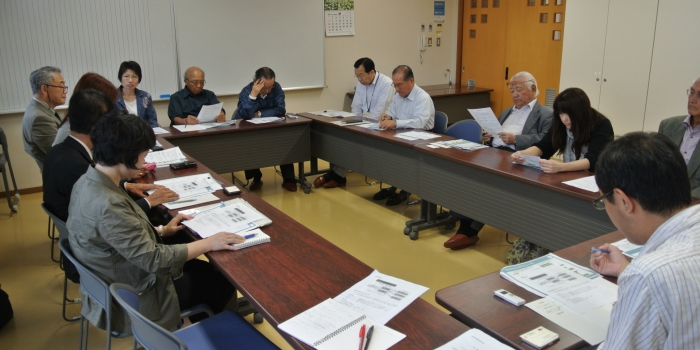 美和台校区への説明会を実施しました(2012.10.17)
