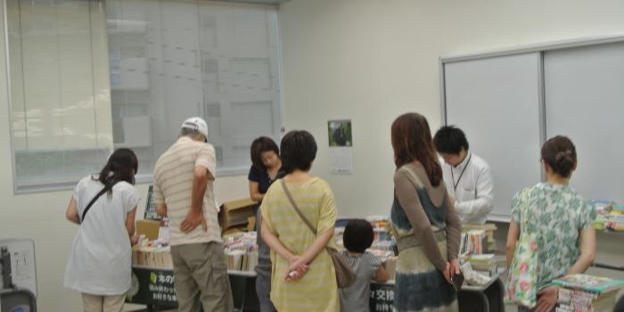 美和台でトライアル事業を実施しました(2013.8.25)
