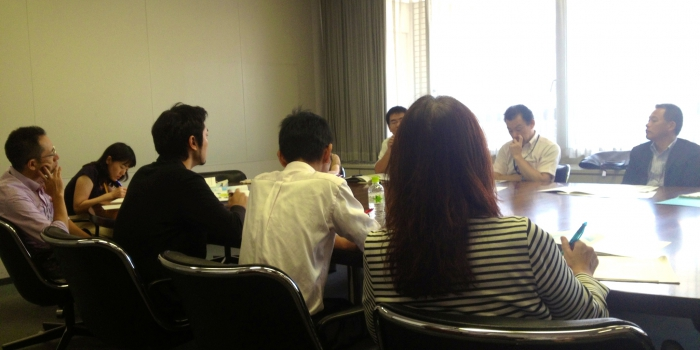 福岡市庁内関係課会議に参加しました(2013.8.21)