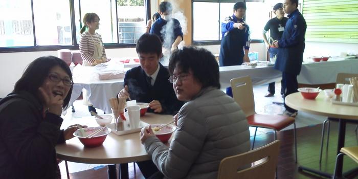立花高校「立花町プロジェクト」開催(2014.3.6〜8)