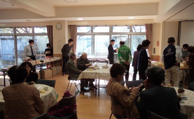 第3回カフェ「たまり場」開催しました(2014.11.10)