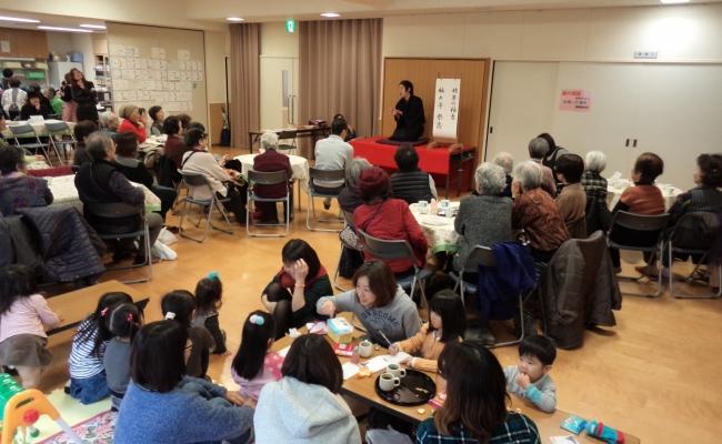 第4回カフェ「たまり場」開催しました(2014.12.22)