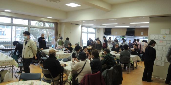 第5回カフェ「たまり場」開催しました(2015.02.02)