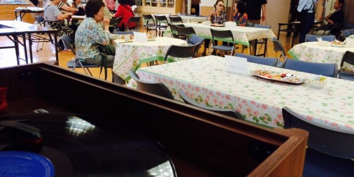 2015年度、1回目のカフェ「たまり場」開催しました(2015.06.16)